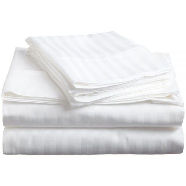 300TC Stripe flat sheet