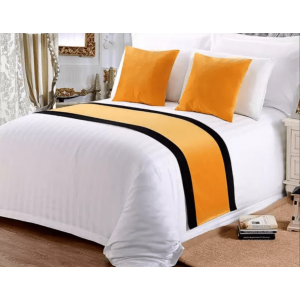 Yellow Bed Runner Hotel