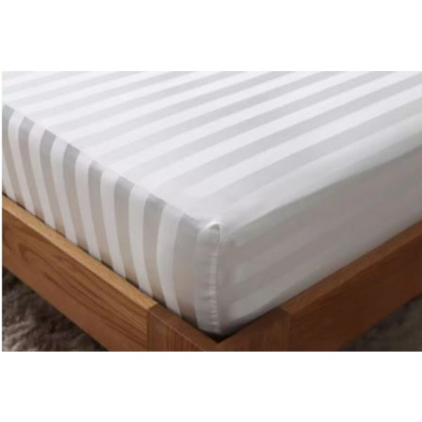 3cm stripe fitted sheet